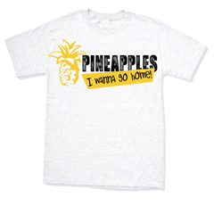 White Pineapples Tee